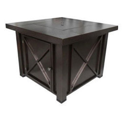 Phat Tommy - Phat Tommy Hammered Bronze Decorative Fire Pit and Lid - This item is part of the PHAT TOMMY outdoor heating line-up. Combining value with superior craftsmanship,this fire pit will give you years of lasting use.