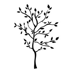 RoomMates - Tree Branches Peel & Stick Wall Decals - Bold yet sophisticated, these wall stickers enable you to create shadows of branches in any configuration. Use as many or as little as you'd like to decorate your space. There are more than enough elements to create an entire tree, or you can opt instead for multiple branches on one or several walls. And if there's ever any need to move the design, every element is reusable and repositionable. This is truly one of our most versatile designs!