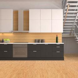 Custom-designed cork tiles - We custom make cork glue down tiles.
