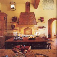 Mediterranean Kitchen by Jill Jordan