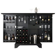 Transitional Bar Carts by Shop Chimney