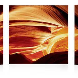 Sand Canyon Gold - The success of our pictures is all about combining the most hi-resolution images with the best material. Our unique printing process makes the hi-resolution images truly stunning and vibrant. The vivid outstanding colors truly captivate the viewer, and will provide a contemporary feel to any room in your home.