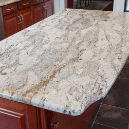 Taupe White Granite - Taupe White Granite purchased directly from Antolini Luigi & Co. in Verona, Italy. White with grey and bits of gold.