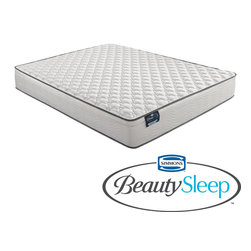 Simmons Beautyrest - Simmons BeautySleep Mount Baker Firm Full-size Mattress - You'll get a great sleep on this full-sized Simmons BeautySleep mattress, which has layers of foam for your comfort. Its flexible coils give you support that matches your body. This mattress is durable, so it will keep you sleeping well for years.