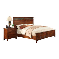 Riverside Furniture - Riverside Furniture Craftsman Home Panel Bed in Americana Oak - Riverside Furniture - Beds - 29XXCraftsmanPanelBed - Riverside's products are designed and constructed for use in the home and are generally not intended for rental, commercial, institutional or other applications not considered to be household usage.