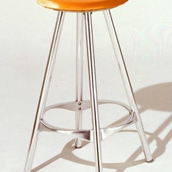 """Knoll - Twist Stool with Seat Cushion - THE DESIGN 