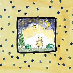 Oh How Cute Kids by Serena Bowman - Star Bright-Rabbit, Ready To Hang Canvas Kid's Wall Decor, 8 X 10 - Each kid is unique in his/her own way, so why shouldn't their wall decor be as well! With our extensive selection of canvas wall art for kids, from princesses to spaceships, from cowboys to traveling girls, we'll help you find that perfect piece for your special one.  Or you can fill the entire room with our imaginative art; every canvas is part of a coordinated series, an easy way to provide a complete and unified look for any room.