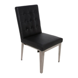 Herness Dining Chair (Set of 2), Black