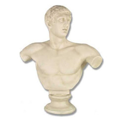 Orlandi Statuary - Discobolus Garden Statue Multicolor - F495 - Shop for Statues and Sculptures from Hayneedle.com! The Discobolus Garden Statue is a wonderful piece for any garden whether in a corner or positioned as the centerpiece. Made of a durable fiberglass resin this statue is suitable for outdoor placement. It captures the image of a discus thrower immediately after he releases the disc into the air and is a reminiscent of the games of ancient Greece. From the waves of his hair to the muscles in his arms every detail of the original comes to life in this bust.About Orlandi StatuaryBorn in 1911 when Egisto Orlandi traveled from Lucca Italy to Chicago Illinois Orlandi Statuary quickly set the standard for excellence in their industry. Egisto took great pride in his craft and reputation and which is why artists interior designers and museums relied upon the careful details and impeccable quality he demanded. Over the years they've evolved into a company supplying more than statuary. Orlandi's many collections today include fiber stone for the garden religious statuary fountains columns and pedestals. Their factory and showroom are still proudly located in Chicago where after 100 years they remain an industry icon.