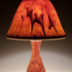 WoodGlow Table Lamps - Peter Bloch