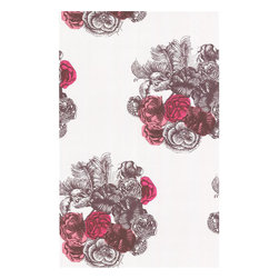 Cole & Son - Cole & Son Peonie Grey By Fornasetti Wallpaper - Wallpaper CalculatorAn eclectic wallpaper adapted from original drawings by Italian designer Piero Fornasetti.
