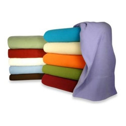Micro Flannel - Micro Flannel Solid Sheet Set - Dress up your bed with warm thermal Micro Flannel sheets. Their finely woven design leaves the bulk behind giving you the coziest experience. These sheets are double brushed for extra softness and do not pill for a flawless appearance.