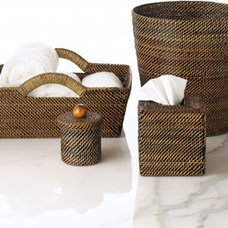 Traditional Waste Baskets by Horchow