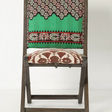 eclectic dining chairs and benches by Rebekah Zaveloff | KitchenLab