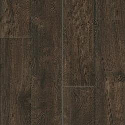 Vinyl / Waterproof Flooring - Supreme Click Elite Waterproof LVT Vinyl Plank Black Walnut