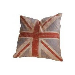 'Vintage Look' Union Jack Cushions - How can you not be inspired by a vintage-style Union Jack when thinking of a British pub?