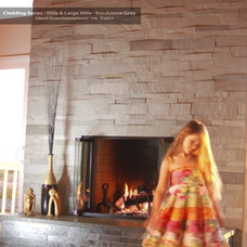 Modern Fireplaces by CheaperFloors