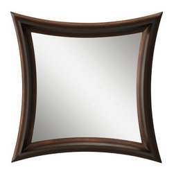 Kichler - Kichler 78187 Ridan Mirror in Bronze 78187 - The Kichler Ridan is a transitional mirror available in Bronze finish. The transitional style is sure to compliment any bathroom, hallway, entry or bedroom.Bulb Included: No Collection: Ridan Country of Origin: China Energy Efficient: No Finish: Bronze Style: Transitional Type: Framed Weight: 15 lbs