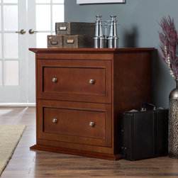 Belham Living - Belham Living Hampton Two Drawer Lateral Filing Cabinet - Cherry - KG-035-2-CH - Shop for File and Storage Cabinets from Hayneedle.com! Was Neil Diamond singing about the Belham Living Two Drawer Lateral Filing Cabinet - Cherry when he belted out Cherry Cherry? Perhaps he looked at this solid wood-framed cabinet with a rich cherry finish and shouted Oh cherry baby! Had he noticed the strong metal drawer glides and smooth drawer movement and the wide lateral-style storage area that fits letter- and legal-sized files he would have known it was the filing cabinet for him.About Belham LivingBelham Living builds catalog-quality furniture in traditional styles at a price that actually makes sense. By listening to our customers and working closely with great manufacturers we build beautiful pieces worthy of your home. Rich wood finishes attention to detail and stylish lines that tie everything together are some of the hallmarks of a Belham Living piece. From the living room or bedroom through the kitchen and out onto the deck there's something from an incredible Belham collection perfect for your style.