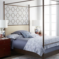 HIGHLAND HOUSE FURNITURE Bradley Beds & Eli Trunk Table -