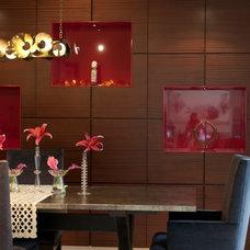 Contemporary Dining Room by Toro-Lombardo Design Build