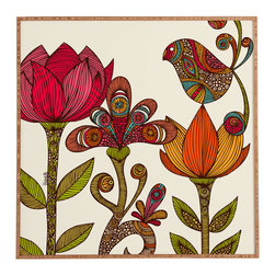 Love Child Picture - The '70s were about a lot of things, but most importantly they were about color. Bring back the era with this lively garden-themed piece of wall art.