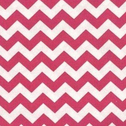 """SheetWorld - SheetWorld Fitted Cradle Sheet - Hot Pink Chevron Zigzag - Made in USA - This luxurious 100% cotton """"woven"""" cradle sheet features a hot pink chevron zigzag print. Our sheets are made of the highest quality fabric that's measured at a 280 tc. That means these sheets are soft and durable. Sheets are made with deep pockets and are elasticized around the entire edge which prevents it from slipping off the mattress, thereby keeping your baby safe. These sheets are so durable that they will last all through your baby's growing years. We're called SheetWorld because we produce the highest grade sheets on the market today. Size: 18 x 36."""
