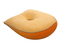 Living Healthy Products - Special Reading Pillow   Seat Wedge Cushion - Yellow - Watching TV or reading a book or magazine is more enjoyable while lying down. But mostly all the time, your arm and back start to hurt, perhaps you use a pillow, but after a while it still uncomfortable. If you enjoy reading while lying down, there is magnificent cushion that will make reading more comfortable and pleasant. The Special Reading Pillow & Seat Wedge Cushion guarantees you a comfy yet firm support so you can keep reading lying in your bed or in your sofa. This reading cushion unique design raises your upper body providing you freedom to move your arms and the hole in the center minimize pressure to your chest so you can read or watch TV for hours. The Special Reading Pillow & Seat Wedge Cushion comes in a styles yellow color. The Special Reading Pillow & Seat Wedge Cushion can also be used as a chair cushion that corrects the posture of your back by aligning your spine, reducing tension on your lower back muscles and improving blood irrigation in your lower body.