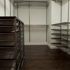 Modern Closet Master Suite Rennovation