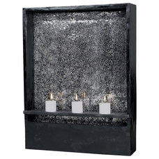 Transitional Indoor Fountains by Lighting Front