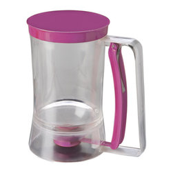 Chicago Metallic - Chicago Metallic Baking Essentials Batter Dispenser - Become a professional cupcake curator or master muffin maker in your own kitchen with this batter dispenser. It lends a helping hand by eliminating all the mess and the need to scoop batter from your bowl, giving you professional results.