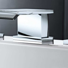 Modern Bathroom Faucets And Showerheads Larnaca 3 tap hole bath filler tap