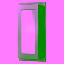 Hinkley - Hinkley 2054HE Titan 1 Light Outdoor Wall Sconce in Hematite 2054HE - Organic Ribbed Etched Glass C-UL-US Listed for WET Locations Medium Base BulbBack Plate Height: 17-1 2 Back Plate Width: 8-1 2 Bulb Type: Incandescent Collection: Titan Dark Sky: No Extension: 4-3 4 Finish: Hematite Height: 17-1 2 Material: Aluminum Number of Lights: 1 Photocell: No Socket 1 Base: MEDIUM Socket 1 Max Wattage: 100 Style: Contemporary TTO: 8-3 4 Voltage: 120 Wattage: 100 Weight: 4 lbs Width: 8-1 2