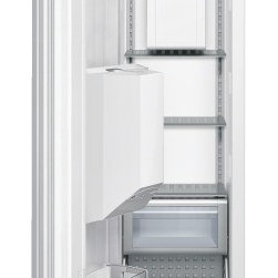 Thermador - 18 inch Freezer Column with External Ice and Water Dispenser T18ID800LP - Freedom to customize. Freedom to go modular. Freedom to integrate your refrigeration with the design of your kitchen. That�s what makes Thermador Freedom Refrigeration the leader in true flush, tall door design. Our refrigeration solutions integrate seamlessly into your kitchen design, with custom fronts and concealed venting grille.