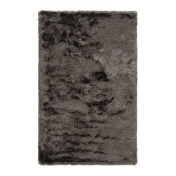 Surya - Surya Dunes DNE-3500 (Elephant Gray) 5' x 8' Rug - Hand woven of 100% polyester, Surya's Dunes collection gives a contemporary feel to the traditional shag area rug. Slipping back from the seventies to spice your casual or formal area up with style this piece is sure to be timeless.