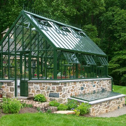 handmade English Greenhouse by Hartley Botanic - Hartley Victorian Glasshouse - handmade in England by Hartley Botanic