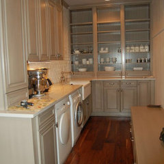 traditional laundry room by Adam Mull