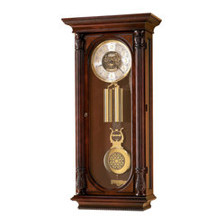 Howard Miller - Howard Miller Limited Edition Key Wound Triple Chime Wall Clock | STEVENSON - 620262 STEVENSON