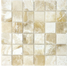 Transitional Tile by Soho Tiles&Marble Inc.
