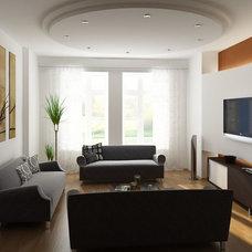 Apartments. Home Entertainment Design Ideas: Home Entertainment Space Combined W