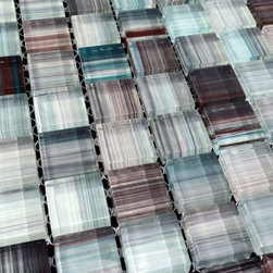 Glass Mosaic Tile - Product Description:Item#: COB0046Collection: Crystal glass tileColor: Color BlendSurface Finish: Glossy and easy for cleaningChip Size: 1 x 1 In. (23mm x 23mm)Thickness: 5/16 In. (8mm)Each sheet of this glass tile is approximately 1 sq ft per sheet and is mesh mounted on high quality fiber glass for easy installation of your glass mosaic tile projects.Application: Glass mosaic tiles are impervious to the water, thus it is great for both interior and exterior use so moisture is not an issue. Mosaic glass tiles are great on floors and walls and have been most popular in bathrooms, spas, kitchen backsplash, wall facades and pools as well as a variety of other applications.Characteristics: Glass mosaic tile has a zero water absorption rate, and this tile exceeds ANSI standards for water absorption for mosaic tile. It is strong, durable, contamination free, and only the best quality tiles are selected as our tiles are inspected for blemishes before shipment.
