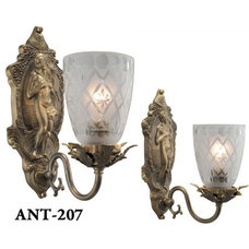 Traditional Wall Sconces by Vintage Hardware & Lighting
