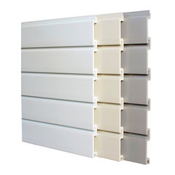 Storewall - 4' Standard Duty Peice-Wall, Brite White - Ideal for less demanding installations. A rugged, waterproof and versatile wall panel, Standard meets or exceeds most load requirements