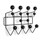 Eames Hang-It-All, Black - The Eames Hang-It-All now comes in black — no more need to spray paint!