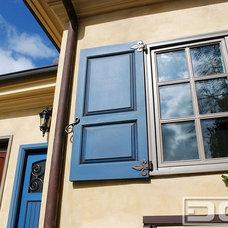 Traditional Window Treatments by Dynamic Garage Door