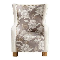 Flowered Toile Buttercup Chair - *J. P. Buttercup Chair