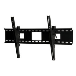 "Peerless - Universal Tilt Mount for 42"" to 71"" (Black) - Enhance the installation experience with the Peerless ST670 Tilting Wall Mount. Versatile functionality and solid engineering makes this mount an intelligent choice for boardrooms, restaurants and bars or home theaters. The wall plate holds displays weighing up to 250 lb. while featuring junction box access ports and horizontal display adjustment up to 12"" for ideal display positioning. Its exclusive pre-tensioned display adaptor design offers display tilt viewing adjustment enabling putting the final touches on the installation increasingly fast and simpleUniversal mount fits displays 42 in. to 71 in. up to 250 lbs.