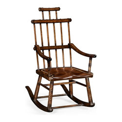 Jonathan Charles - New Jonathan Charles Rocking Chair Dark - Product Details
