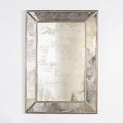 Dion Antique Silver Leaf Mirror - Clayton Gray Home -