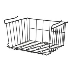 IKEA of Sweden - GORM Clip-on basket - Clip-on basket, black